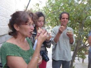 חביסה - שלב ביניים טעים בהכנת המלבן.