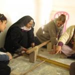 הדגמה והסבר על מתיחת השתי