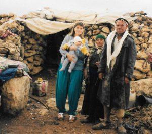 עיישה, החאג', אביגיל ואני. סוסיא, סוכות 1997